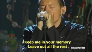 Linkin Park - Leave Out All The Rest Live [Lyrics]