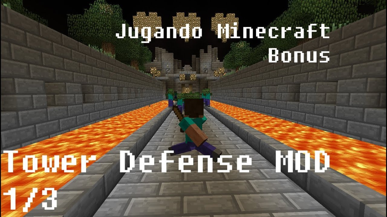 mapa minecraft tower defense