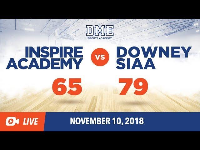 Inspire Academy vs Downey SIAA Crossover
