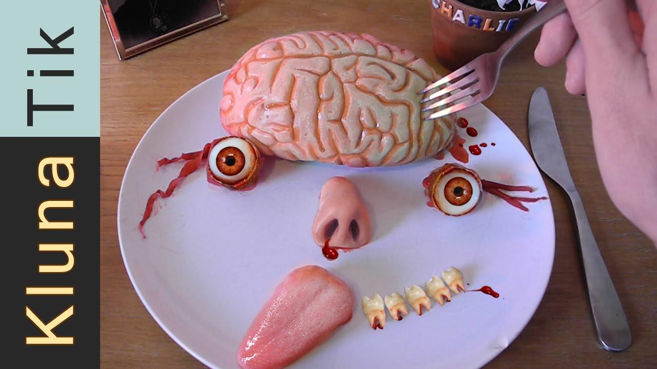 Klunatik Eating Brains Eyeballs And A Tongue Kluna Tik Dinner 37 Asmr Eating Sounds Face Youtube