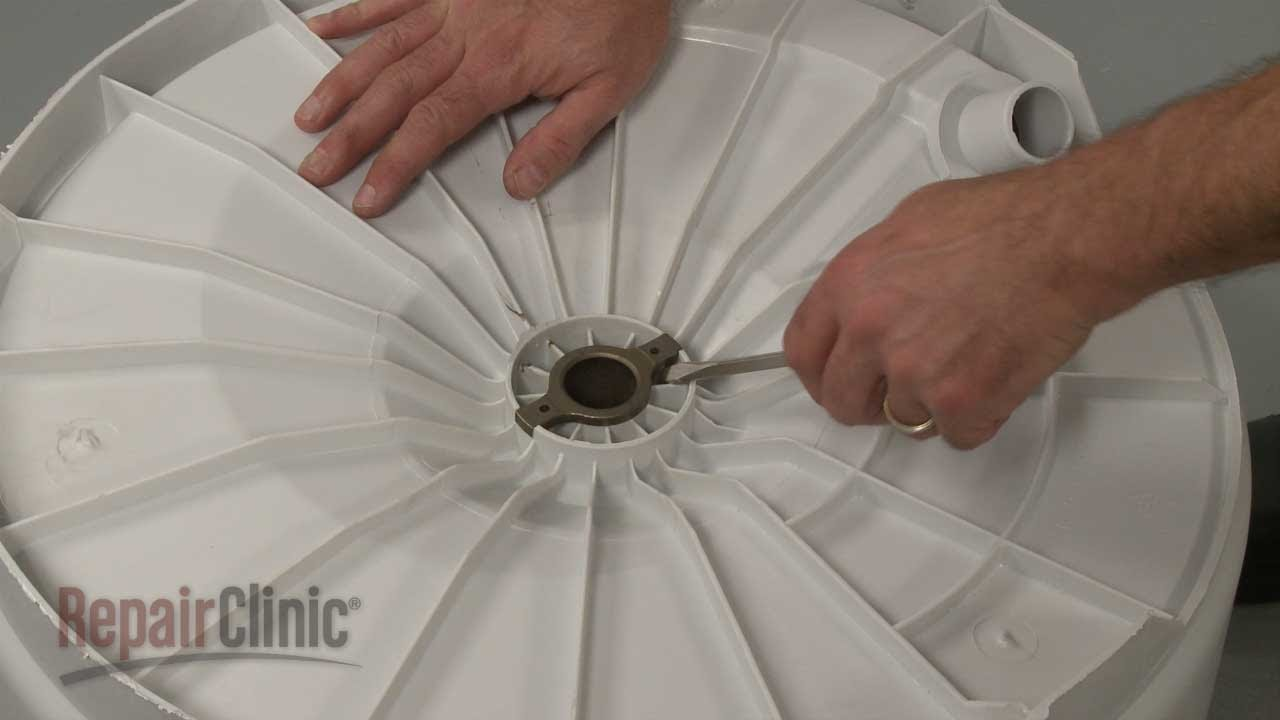 Frigidaire Dryer Diagram Auto Gate Wiring Pdf Top Load Washer Upper Spin Bearing #3204405 - Youtube