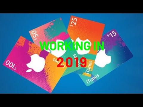 How To Get Free Itunes Cards Working In August 2018no Jailbreak