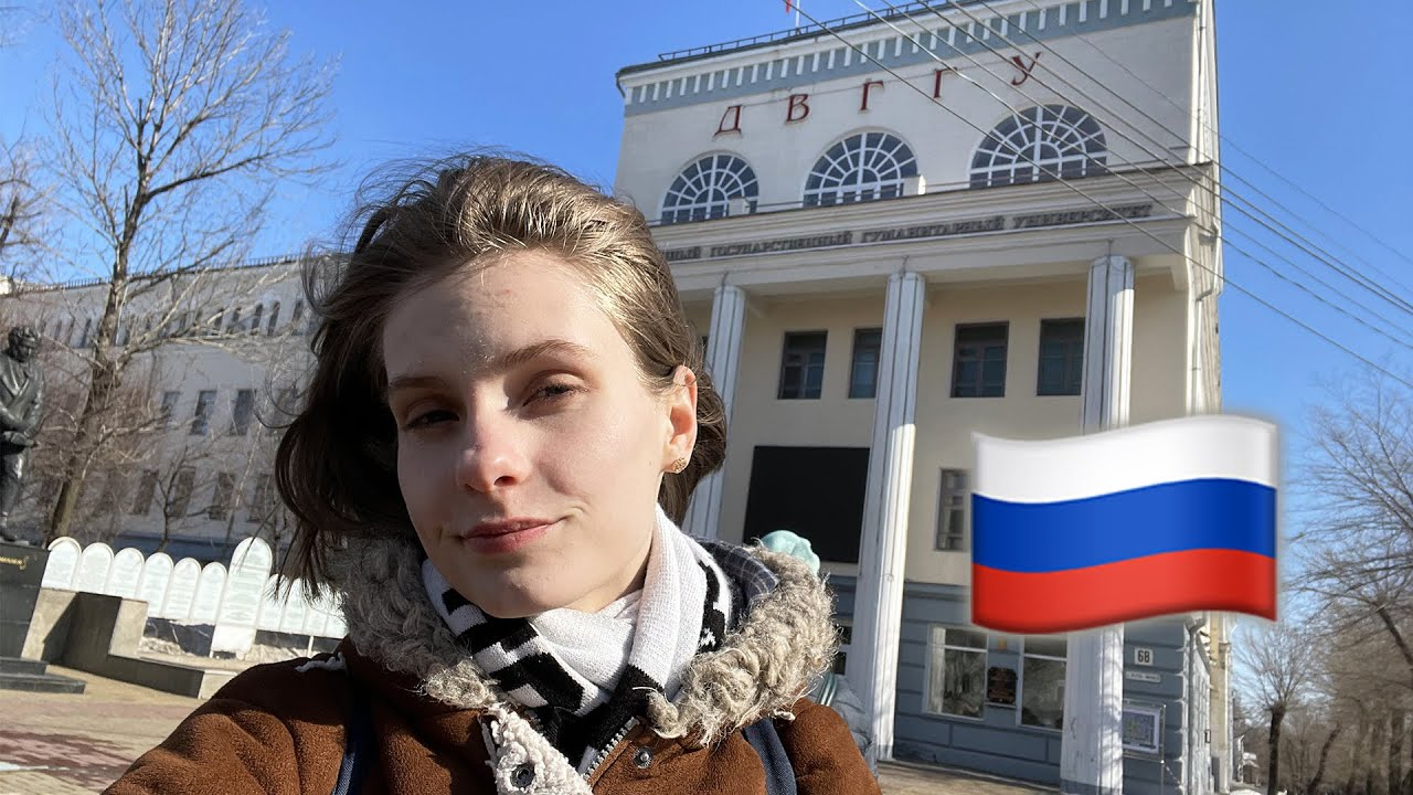One day in my ✨SOVIET✨ university in Khabarovsk, Russia
