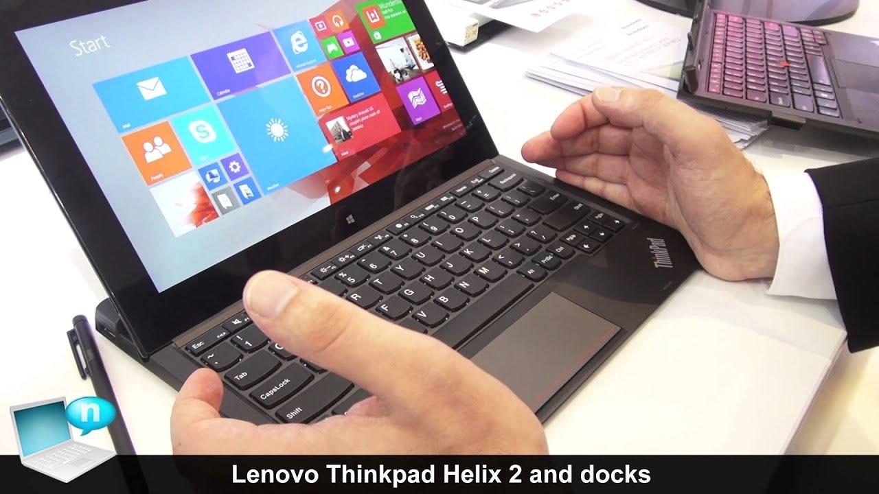 Lenovo ThinkPad Helix 2 and docks - YouTube