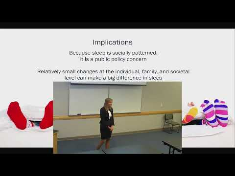 Wendy M. Troxel, PhD - The Social Nature of Sleep: From Couples to Communities to Policy