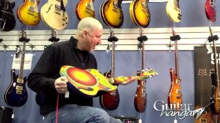 Guitar Hangar's Hand Painted Reproduction of Eric Clapton's Gibson The Fool SG   Guitar Hangar