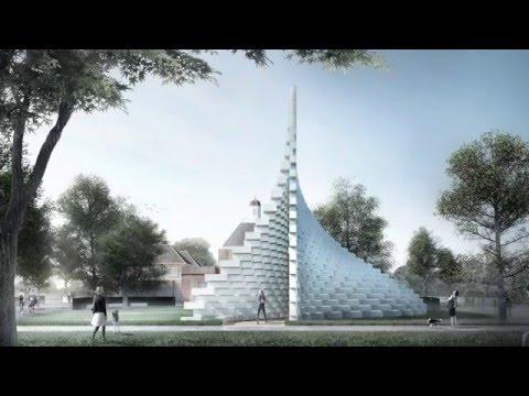 Bjarke Ingels unveils Serpentine Gallery Pavilion 2016 design