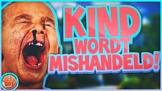 KIND WORDT MISHANDELD!