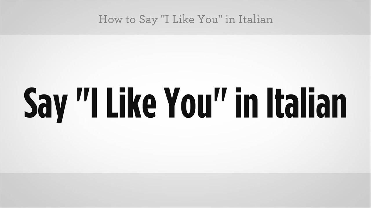 """How To Say """"i Like You"""" In Italian  Italian Lessons  Youtube. Pittsburgh Moving Companies Us Senators Ohio. Seo And Ppc Working Together. Security Install Solutions B2b Mailing Lists. Causes Of Depression In Women. Carpet Cleaning Bridgeport Ct. Keep Losing Wireless Connection. Chicago Nissan Dealership Java Server Hosting. Treatments For Head Injuries"""