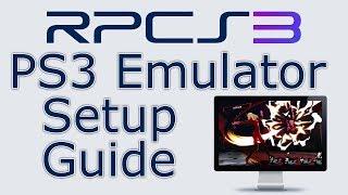 RPCS3 Full Setup Guide! | PlayStation 3 Emulator