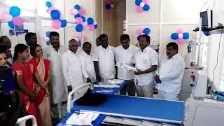 Minister Laxma Reddy Inaugurated Dialysis Centre at Vikarabad Area Hospital