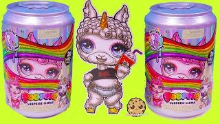 NEW Giant Soda Can Poopsie Surprise Llama Mix + Make Easy Slime Video
