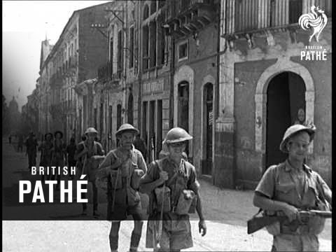 Fall Of Catania (1943)