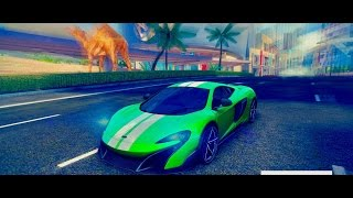 Asphalt 8, McLaren 675LT, farming & improving time