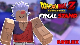 Increíble nuevo Dragon Ball Z RPG en Roblox Stand final de Dragon Ball Z ? iBeMaine