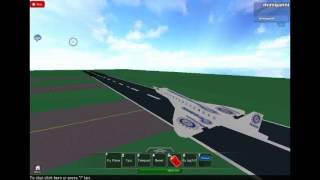 roblox oceanic airlines concorde décollage aéroport robloxian