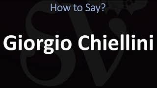How to Pronounce Giorgio Chiellini? (CORRECTLY)