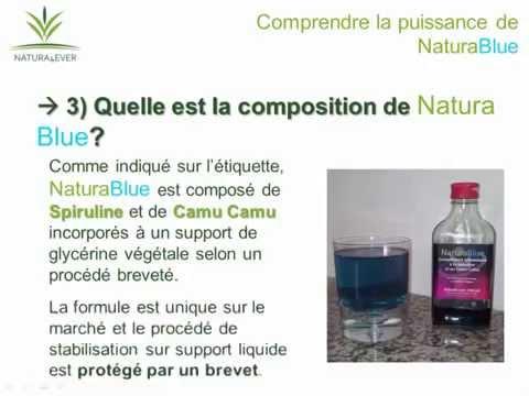 NaturaBlue, Spiruline liquide et Camus camus - Natura4ever