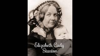 Elizabeth Cady Stanton, Address to the NY Legislature, 1854