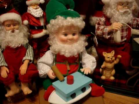 Rhons Collection of Animated Christmas Figures as of December 11 ...