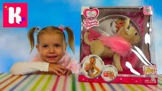 Chi Chi Love Собачка Принцесса /Обзор игрушек / Гуляем на деткой площадке