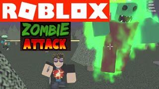 Wir werden von der BOSS in ZOMBIE ATTACK auf ROBLOX - YG Gaming gejagt