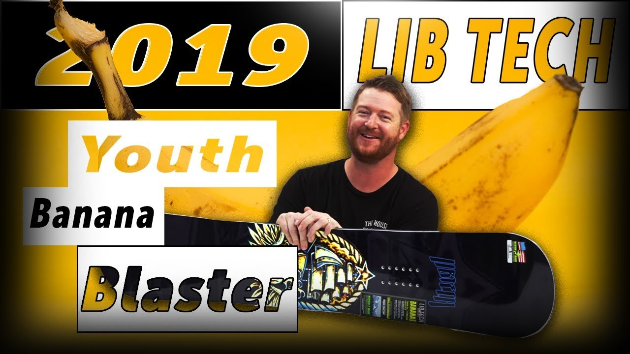 2020 Lib Tech Banana Blaster BTX JR Snowboard
