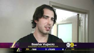 Sasha Vujacic Engaged To Maria Sharapova HD VIDEO