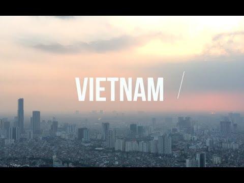 AMAZING VIETNAM SCENERY   Hanoi & Northern Vietnam Travel Video 2017