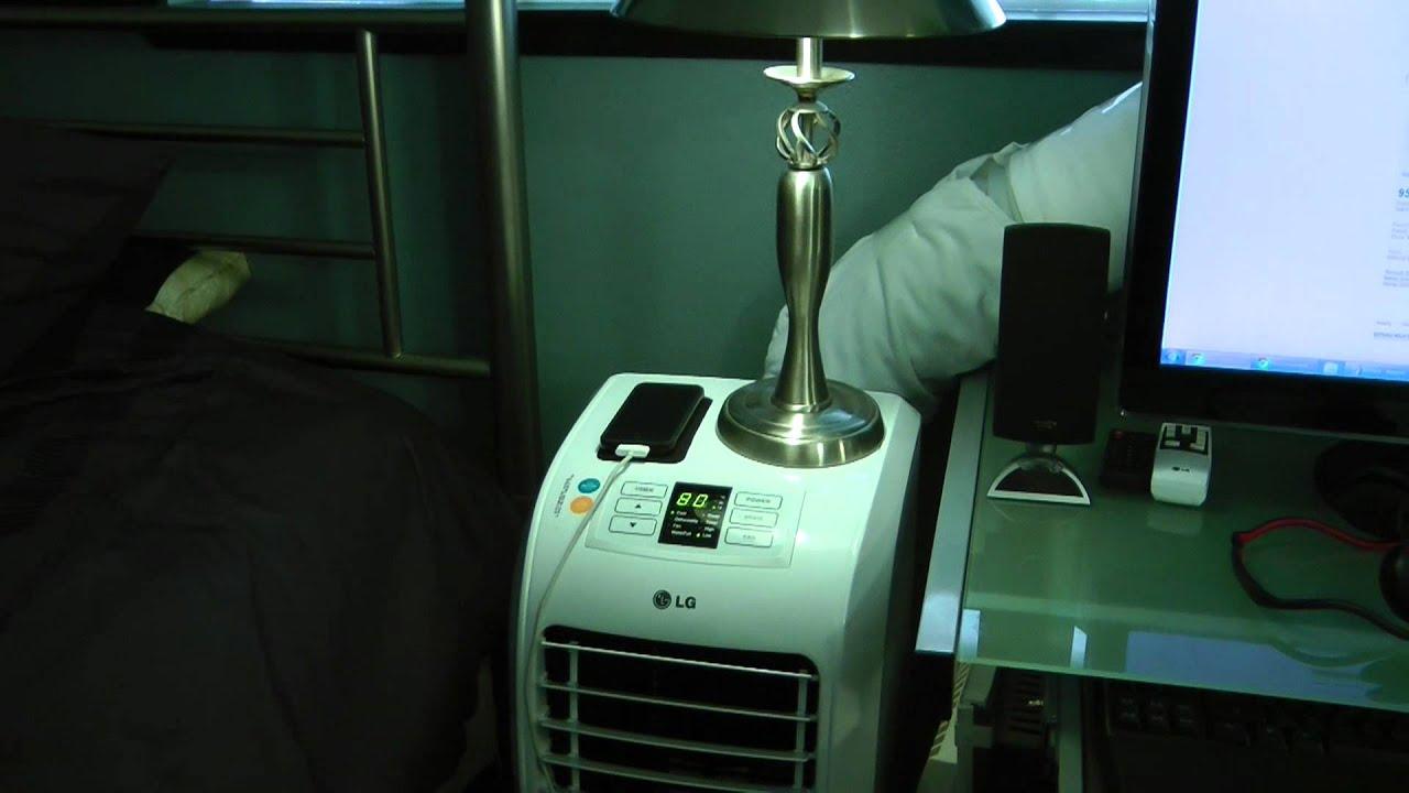 Lg Electronics 7 000 Btu Portable Air Conditioner Update
