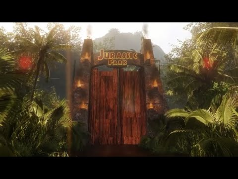 Jurassic Dream - Explore A Huge & Highly Detailed Jurassic Park Recreation (Minus the Dinosaurs!)