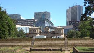 Деньги на ПУТЕШЕСТВИЯ, Downtown Luxemburg и военный форт