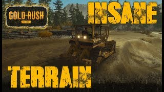 INSANE TERRAIN CREATION | THE ARNOLD CLAIM | GOLD RUSH: THE GAME