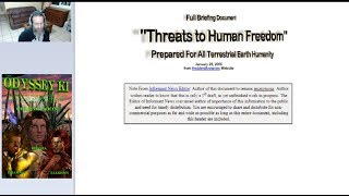 Threat Briefing for All Humanity with Gerald Clark