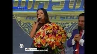 Алсу спела в прямом эфире «Машын шоу» песню Полада Бюльбюльоглу на азербайджанском языке