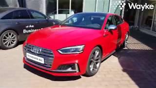 [Eng subtitles] Shorter testdrive of new Audi S5 Sportback, lighter than the predecessor