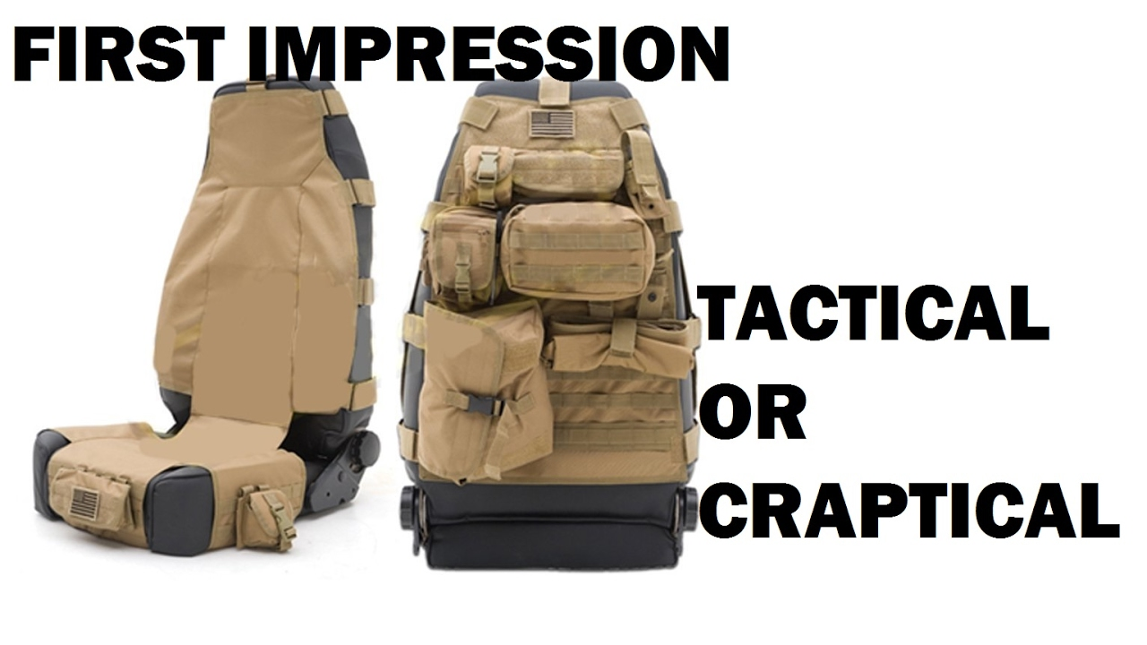 Jeep Wrangler Seat Covers >> Jeep Wrangler Molle Seat Covers FIRST IMPRESSIONS - YouTube