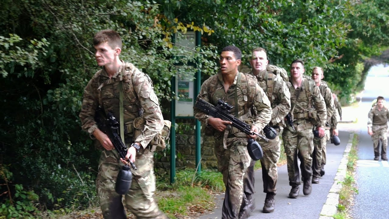royal marines pierderea în greutate
