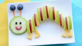 як можна зробити з фруктів і овочів вироби
