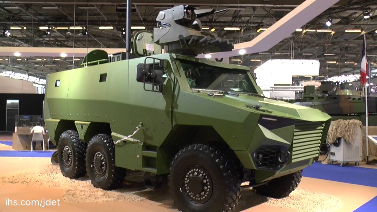 Eurosatory 2016 Griffon The French Army S Future Wheeled