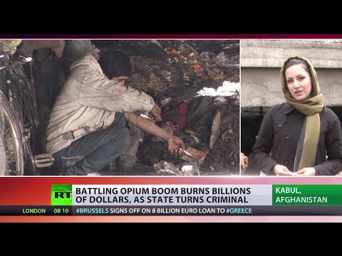 Afghan Opium Wars: Drugs win?