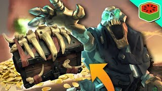 BEATING THE RAID! LOOT GALORE! | Sea of Thieves