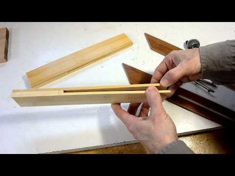 Making a bevel gauge