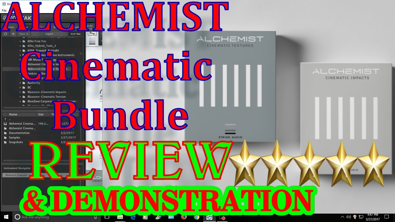 alchemist cinematic bundle string audio review kontakt sample alchemist cinematic bundle string audio review kontakt sample library vst