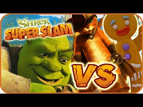 Shrek Super Slam Game Part 1 Gamecube Pc Ps2 Xbox Gingerbread