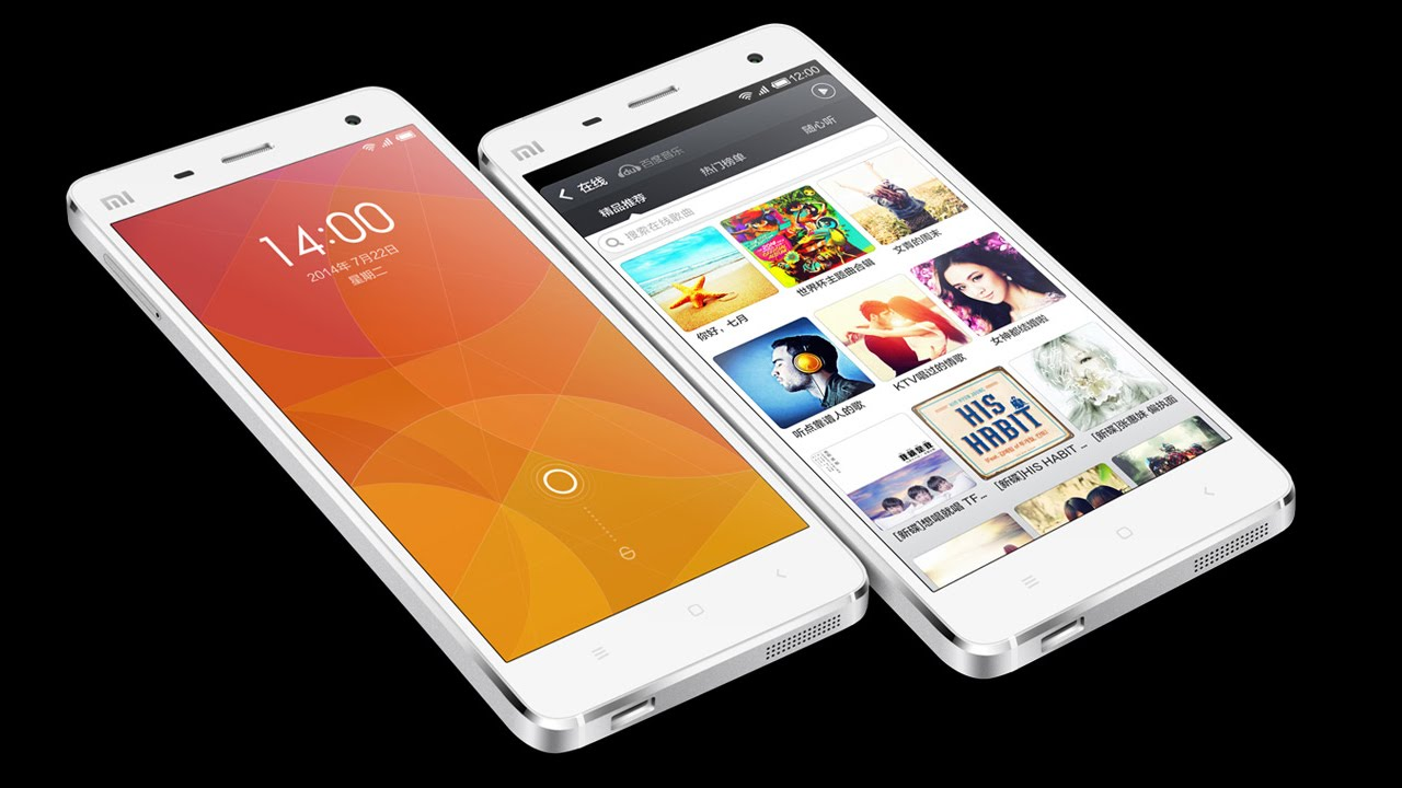 Xiaomi Mi4 Vs Iphone 5s Xiaomi Mi4/Mi 4 VS iPh...