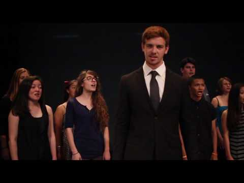 """Foreigner Choir Competition  """"Cold As Ice"""" by the West Hills High School Honors Choir"""
