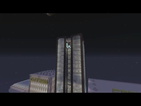 Minecraft Gotham City: Wayne Enterprises