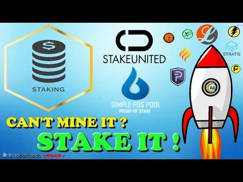 STAKING THEM COINS !! (POS) (EMB) (LINDA) ( LCT)