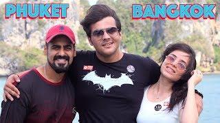 Private Yacht Party In PHUKET |Thailand| Jadoo Vlogs | Ashish Chanchlani | Simran Dhanwani